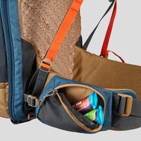 Men's Trekking Travel Backpack 70 Litres - TRAVEL 500 Blue