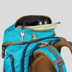 Women's Travel Trekking 50 L Backpack Travel 500 - Blue