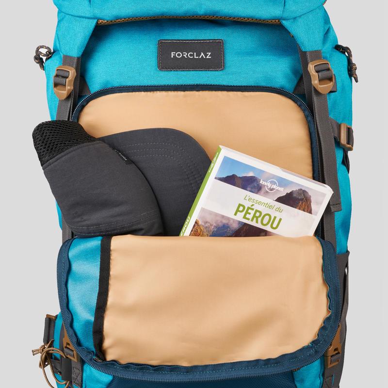 Women's Travel Trekking 50 L Backpack Travel 500 - Blue