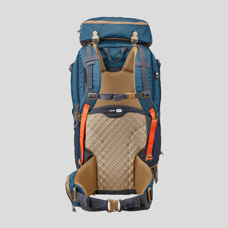 Men's Travel Trekking 70 L Backpack Travel 500 - Blue
