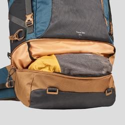 Backpacking Rucksack Travel 500 70 Liter abschließbar Herren blau