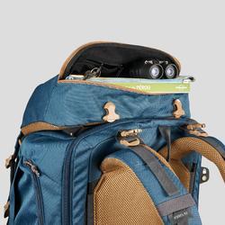 Backpacking Rucksack Travel 500 Easyfit Herren 70Liter blau