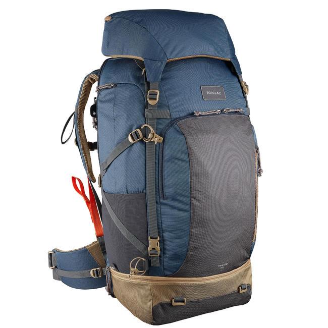 Buy Travel Backpack 500 Lockable 70LBlue Buy Decathlon Rucksack Online
