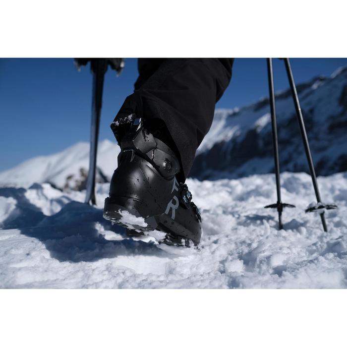 Chaussures de ski Freeride Adultes Wedze FR 100 flex 90 noir
