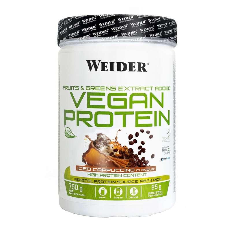 PROTEIN & KOSTTILLSKOTT Kost och Hälsa - WEIDER VEGAN 750g iceCapuccino WEIDER - Proteinpulver