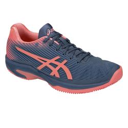 CHAUSSURES DE TENNIS FEMME Solution Speed Clay Bleue Rose