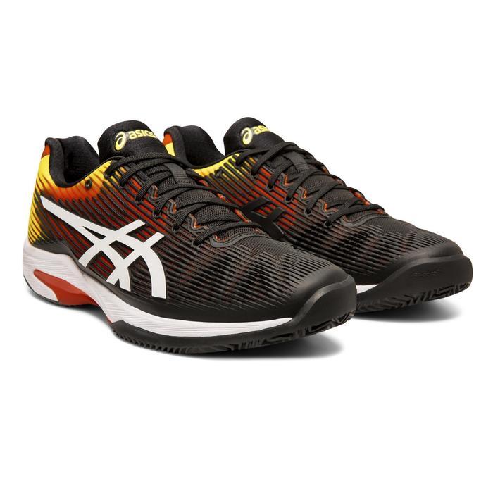 Tennisschoenen voor heren Gel-Solution Speed 3 gravel zwart/blauw