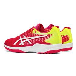 CHAUSSURE DE TENNIS FEMME ASICS GEL SOLUTION ROSE