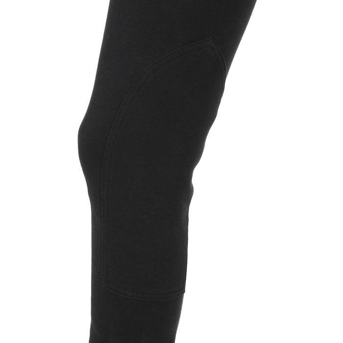 Damesrijbroek BR100 zwart