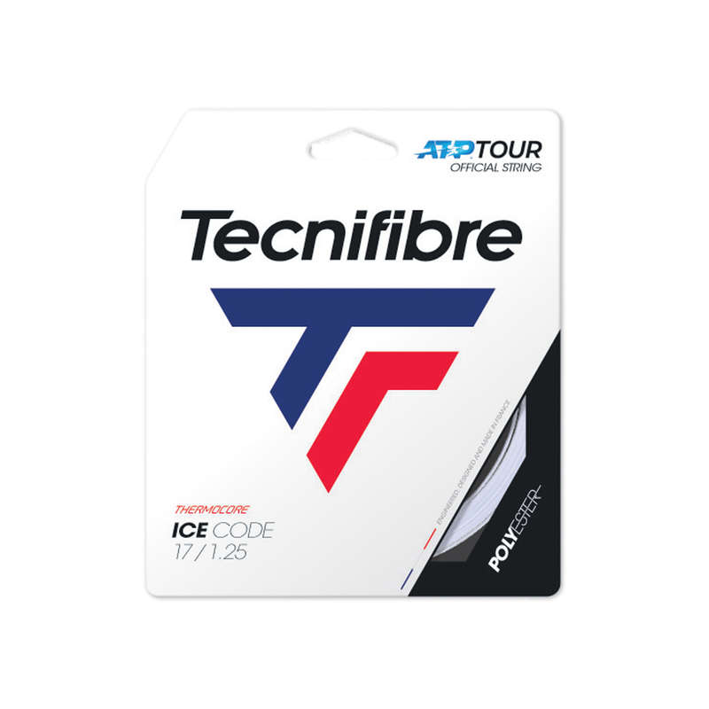 TENISZ HÚROK Tenisz - Teniszhúr Ice Code 1,25 mm TECNIFIBRE - Tenisz felszerelés