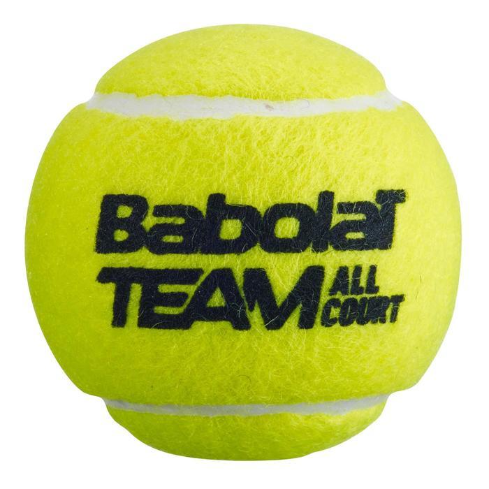 Balle de tennis Team All Court *4 Jaune