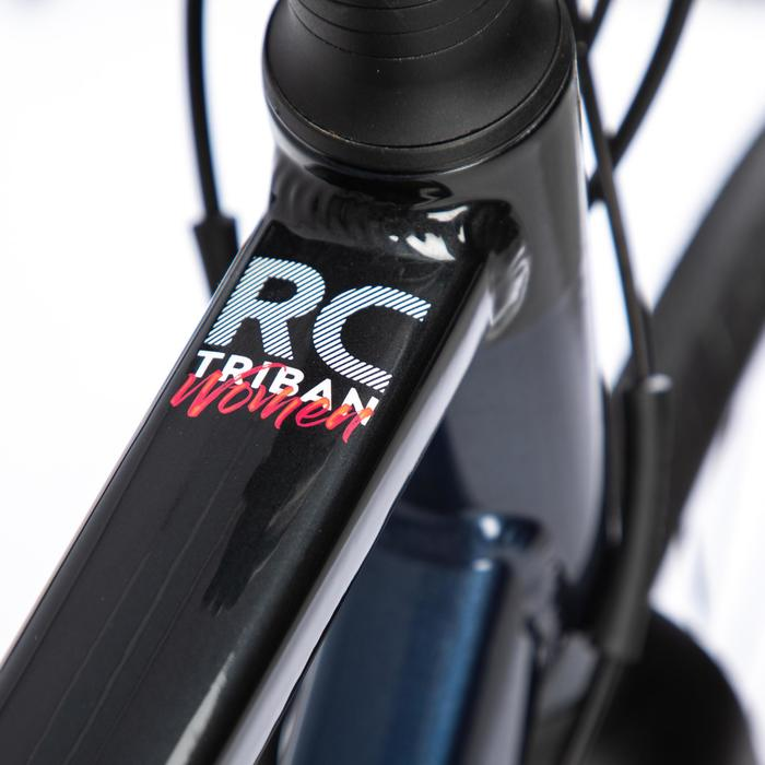 Racefiets voor dames Triban RC520 Disc