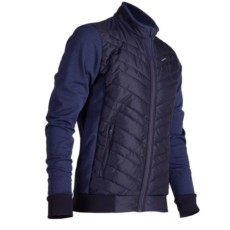 MENS COLD WEATHER GOLF CLOTHING Golf - Inesis Men's Cold-Weather Golf Insulated Jacket - Navy INESIS - Golf Clothing