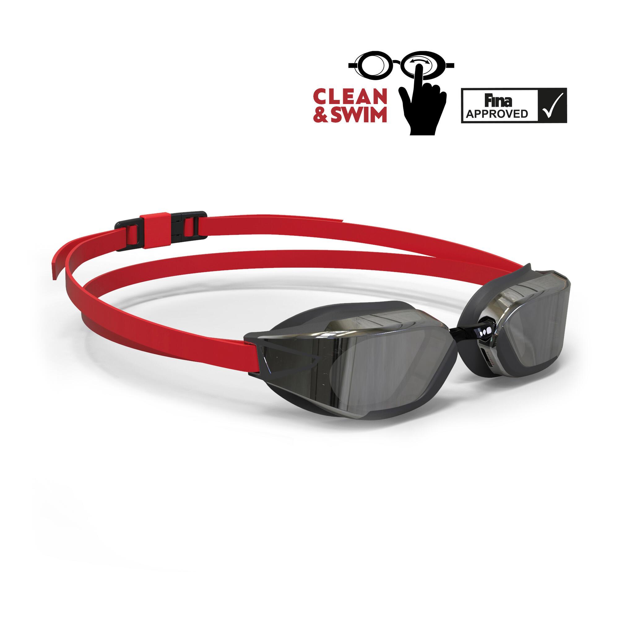 lunettes de natation micro r glables 900 b fast clean swim nabaiji