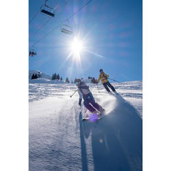 滑雪吊帶褲Freeride 900含內建式護背Bib Protect - 藍色