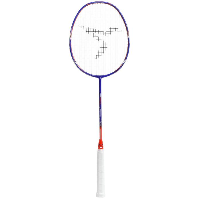 JUNIOR BADMINTON RACKET BR 560 LITE BLUE ORANGE
