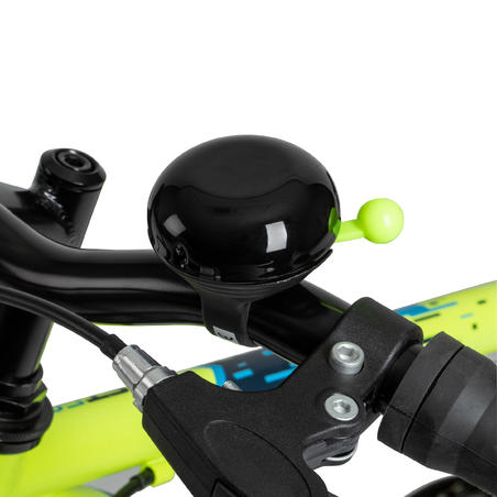 Kids' Bike Bell - Black/Yellow
