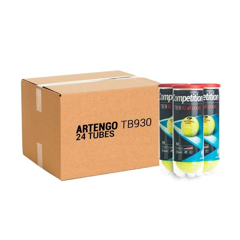 TENNISBOLLAR Racketsport - Tennisboll TB 930 *3 PACK *24 ARTENGO - Tennis