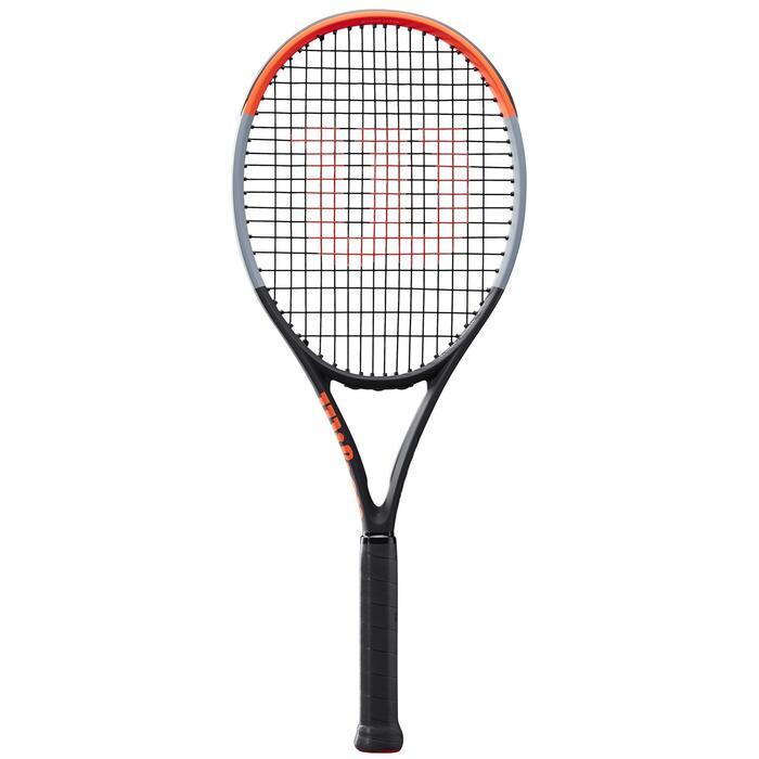 Tennisracket voor volwassenen Wilson Clash 100 zwart/rood