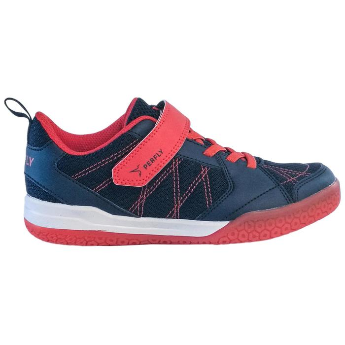 JUNIOR BADMINTON SHOES BS 160 NAVY RED