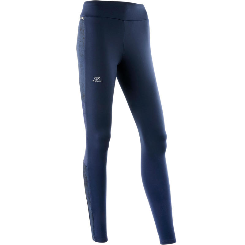 RUN WARM+ WOMEN'S WARM JOGGING TIGHTS BLUE