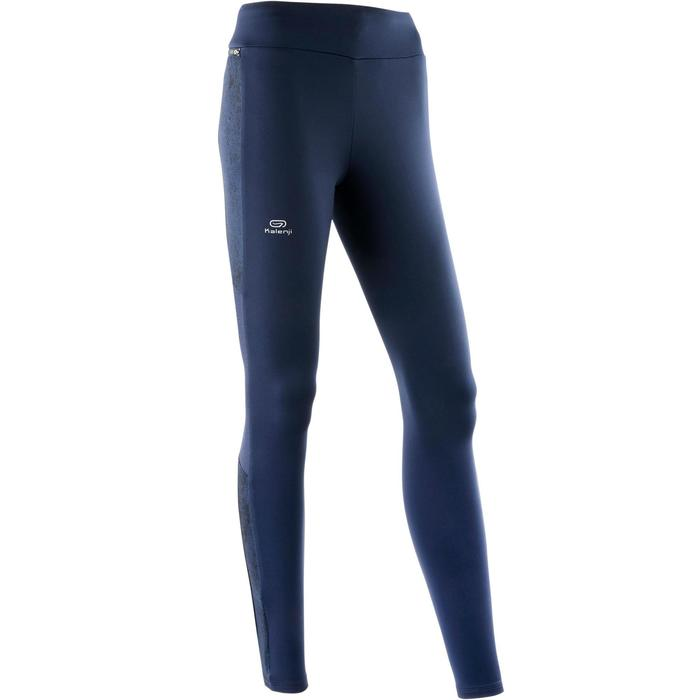 Laufhose Tights Run Warm+ Damen blau