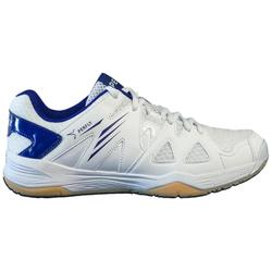 Badmintonschoenen voor dames BS 530 wit/blauw