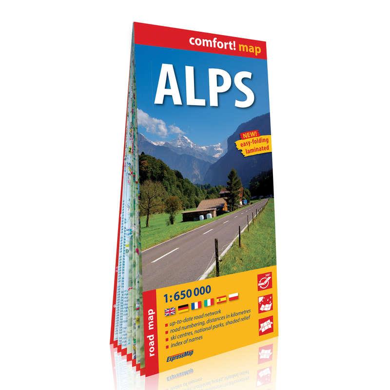 térképek Túrázás - Alpok comfort térkép CARTOGRAPHIA - Túra felszerelés