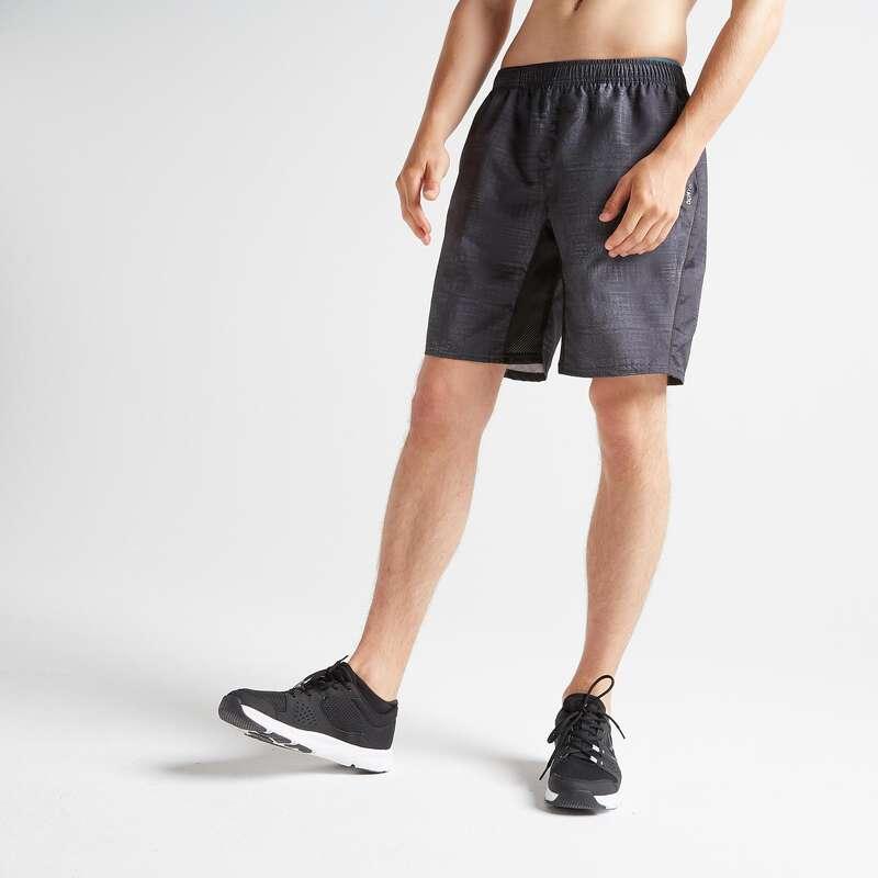 MAN FITNESS APPAREL - FST 120 Shorts - Black Print