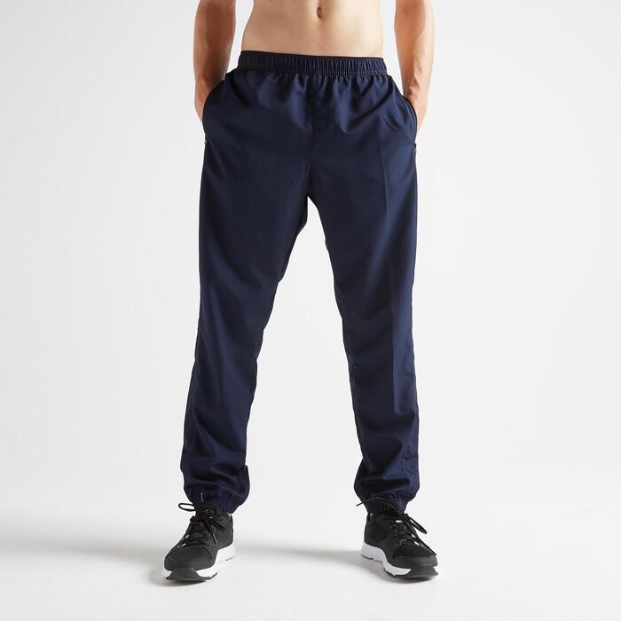 Fitness broek FPA 120 voor heren, blauw