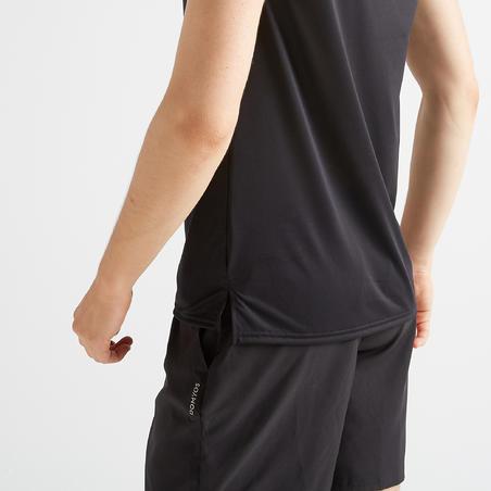 Men's Cardio Fitness Training T-Shirt FTS 100 - Black