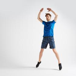 FTS 120 Kaus Latihan Fitness Kardio - Biru Berbintik
