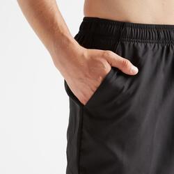 Pantalón corto chándal Cardio Fitness Domyos FST 100 hombre negro