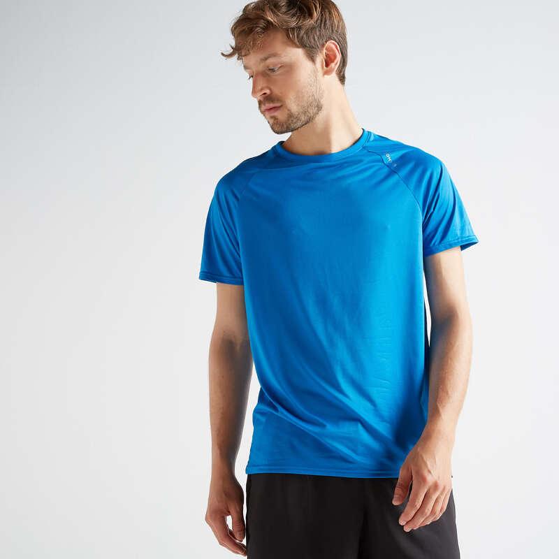 ABBIGLIAMENTO UOMO CARDIO FITNESS Fitness - T-shirt uomo fitness 100 DOMYOS - Abbigliamento palestra