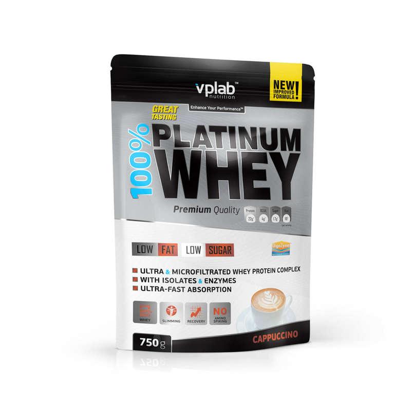 ПРОТЕИНЫ, БИОЛОГИЧ АКТИВ ДОБАВКИ Спортивное питание - Протеин 750г / капуччино VPLAB - Спортивное питание