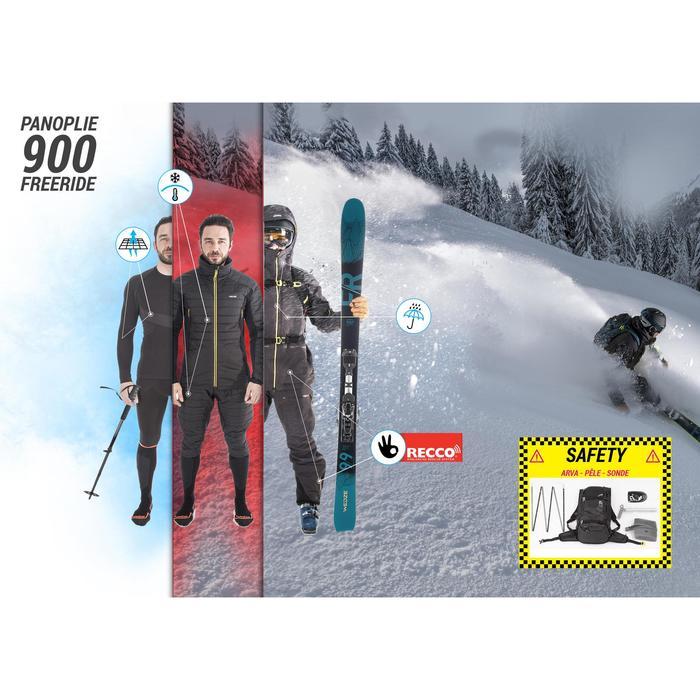 Abrigo Chaqueta Esquí y Nieve Wed'ze SFR 900 2 piezas Hombre gris