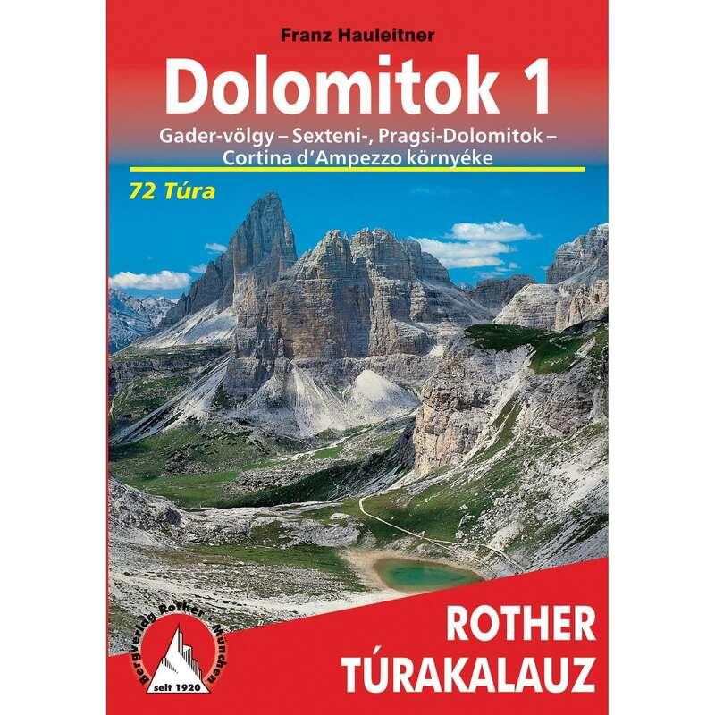 térképek Túrázás - Dolomitok 1-Rother túrakalauz CARTOGRAPHIA - Túra felszerelés