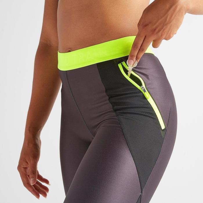 Legging 7/8 fitness cardio training femme imprimé 500