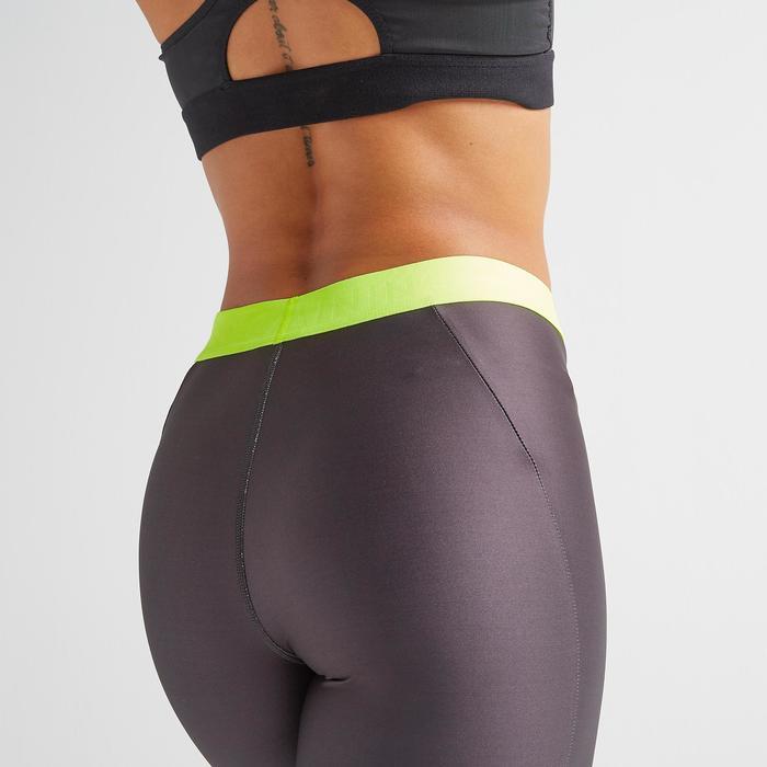 7/8-Leggings FLE 500 Fitness Cardio Damen Print