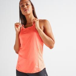 Top 3-in-1 FTA 520 Fitness Cardio Damen koralle mit Print