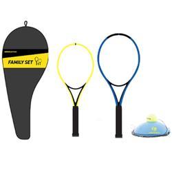 Set Tennis Trainer voor kinderen Duo 2 rackets 1 Ball is Back 1 hoes