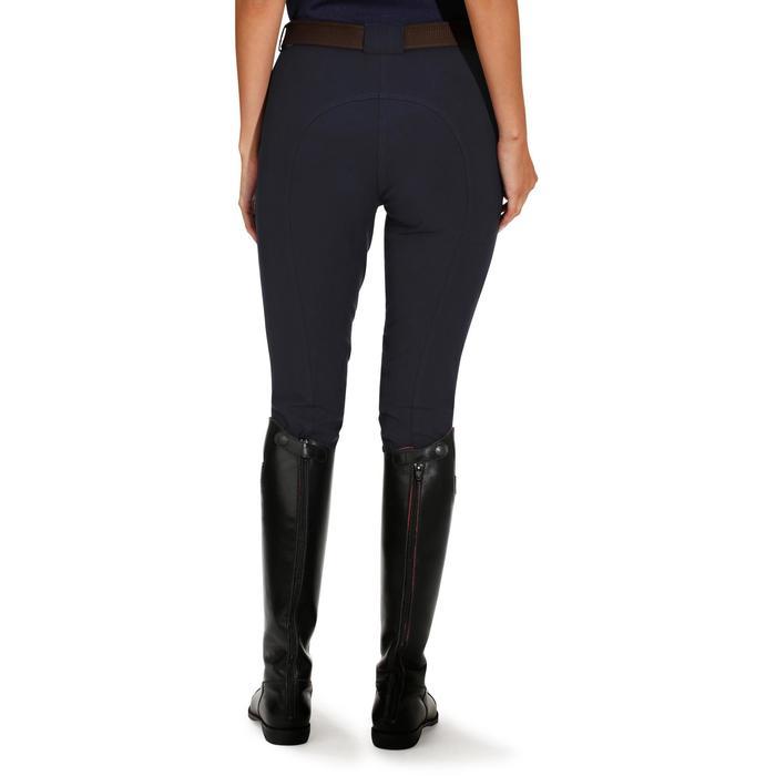 Pantalon équitation femme BR500 basanes marine - 172496