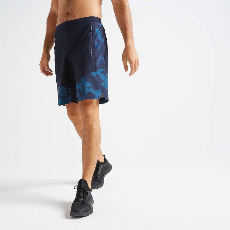 Fitnesz Cardio Férfi ruházat és cipő középhaladó Fitnesz, jóga - Férfi rövidnadrág FST 500 DOMYOS - Férfi kardió ruházat, cipő