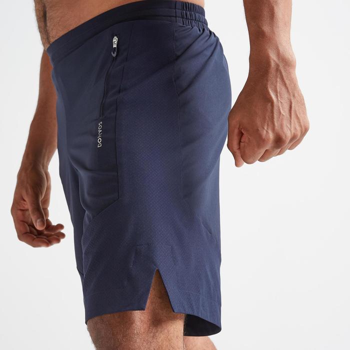 Short voor cardiofitness heren FST 500 marineblauw