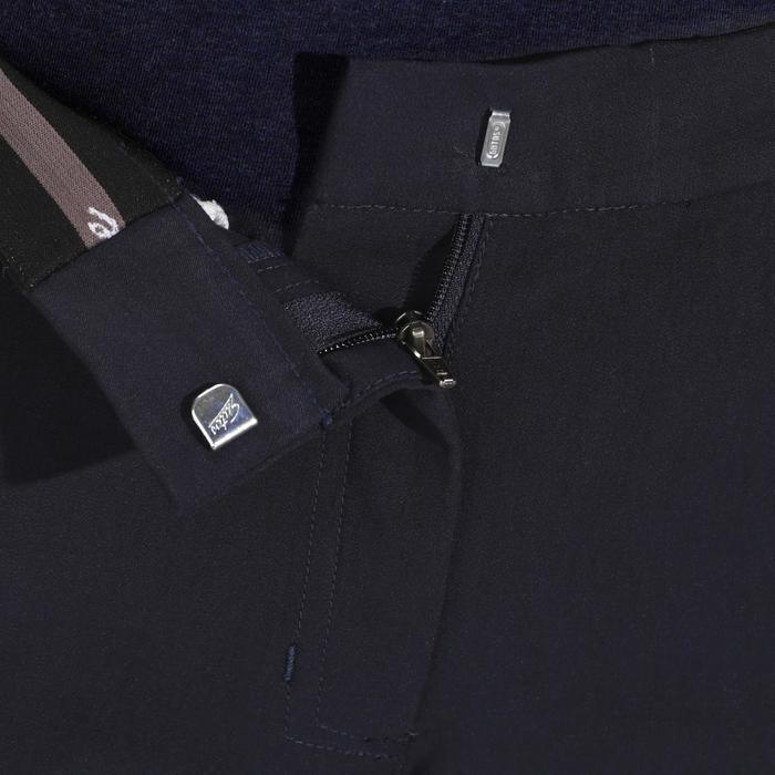 Pantalon équitation femme BR500 basanes marine - 172499
