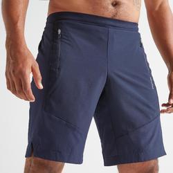 Short de cardio fitness hombre FST 500 azul marino