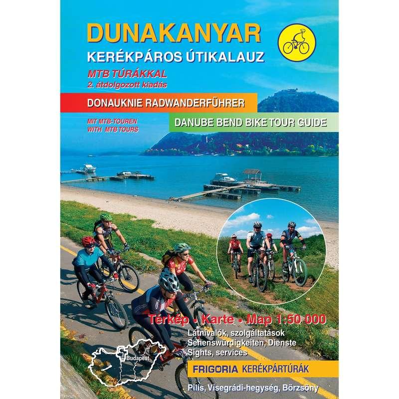 térképek Túrázás - Dunakanyar kerékpáros térkép CARTOGRAPHIA - Túrázás