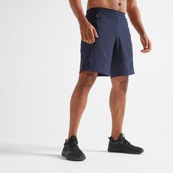 Short cardio fitness homme FST 500 bleu marine