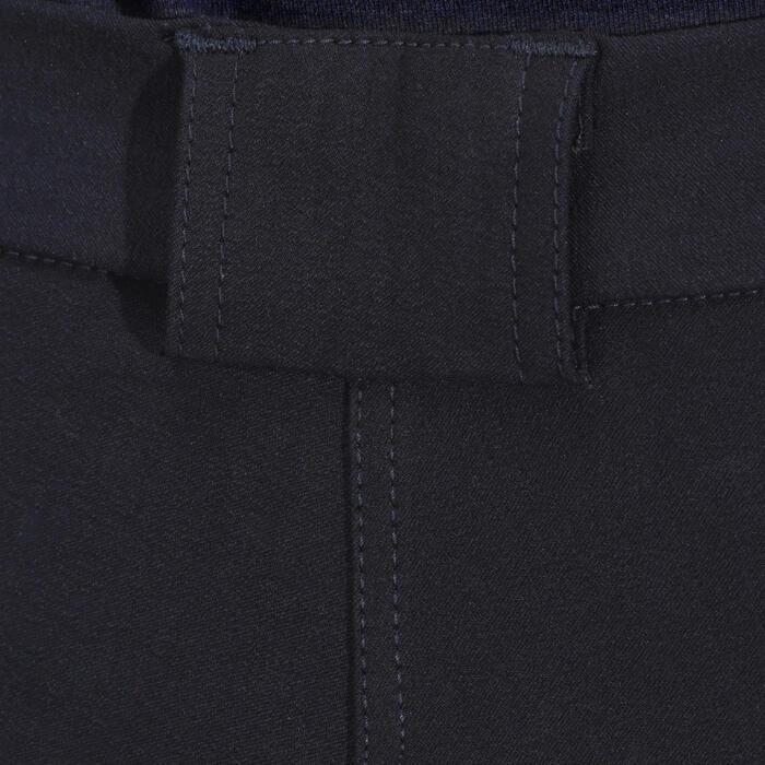 Pantalon équitation femme BR500 basanes marine - 172502