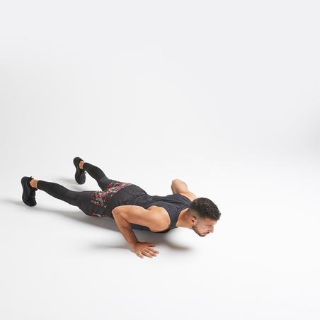 Training Fitness Leggings 500 - Black